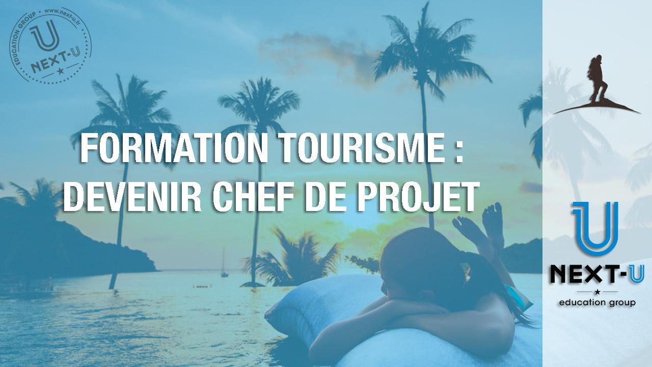 Formation tourisme: devenir chef de projet touristique