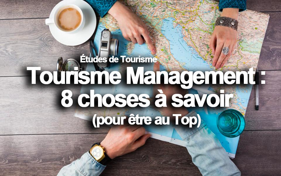 tourisme management