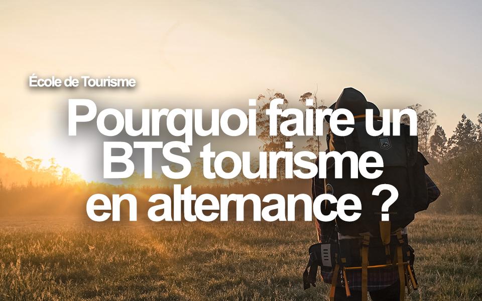 Pourquoi faire un BTS tourisme en alternance ?